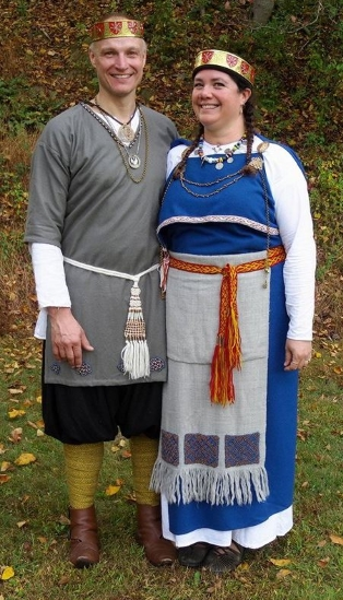 Their Sylvan Majesties King Timothy of Arindale and Queen Gabrielle van Nijenrode